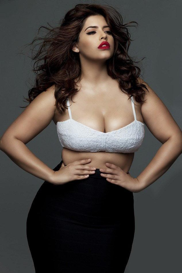 Curvy models who wear sizes 18 to 24 debut bridal boutique