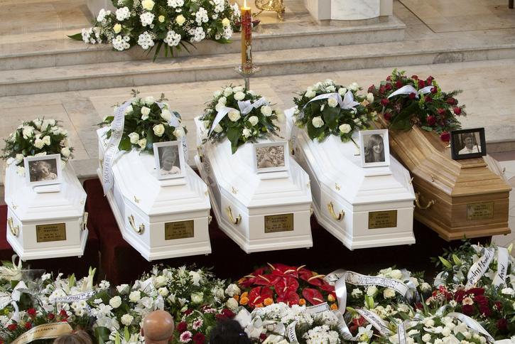 Pogrzeb rodziny Perzyńskich