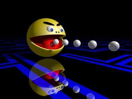 <P>7. Pac-Man  </P>Sztandarowa postać koncernu Namco Bandai, narodził się bez włosów ponad 20 lat temu i po dzień dzisiejszy pozostaje całkowicie łysy