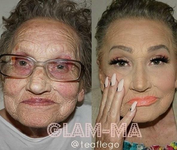 Niezwykła metamorfoza 80-letniej Livii