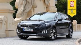 Peugeot 508 RXH 2.0 BlueHDi – Klasa biznes