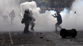 Starcia greckich rolników z policją