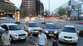 Toyota RAV4, Nissan X-Trail, Kia Sportage, Suzuki Grand Vitara - Terenówki niezupełnie terenowe