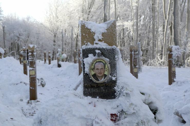 Az egyik áldozat / Fotó: MTI - Vajda János