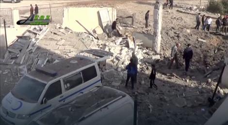 Posledice bombardovanja bolnice