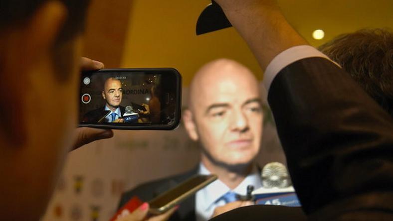 Infantino esélyes az elnöki posztra /Fotó: AFP