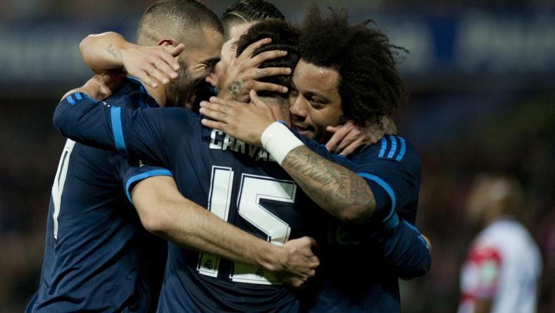 A Real jelenleg harmadik a bajnokságban /Fotó: AFP