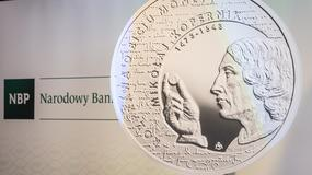 Mikołaj Kopernik na nowej monecie kolekcjonerskiej o nominale 10 zł