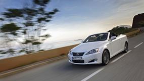 Lexus IS 250C: Elegancja i dynamika