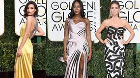 Heidi Klum, Naomi Campbell czy Emily Ratajkowski: która z modelek bardziej olśniła na rozdaniu Złotych Globów 2017?