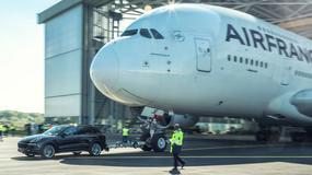 Porsche Cayenne pociągnął 285-tonowego Airbusa A380