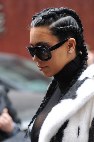 Hit na Instagramie: Warkocze Kim Kardashian