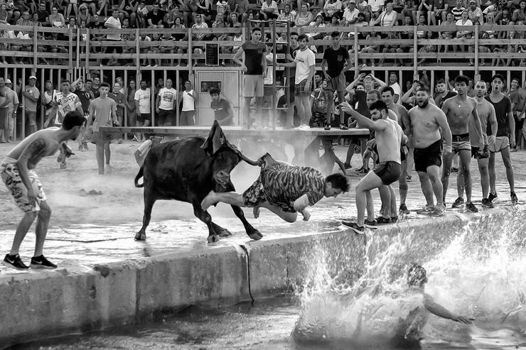 Ezt a feketefehér képet Spanyolországban készítette egy helyi fotós, Jaime Mezquaida /Fotó: Northfoto