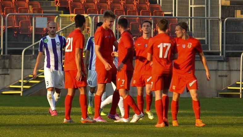 A hivatásos labdarúgókat elküldték Dunaújvárosról /Fotó: Dunaújváros PASE