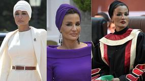 53-letnia pierwsza dama Kataru jak gwiazda filmowa!