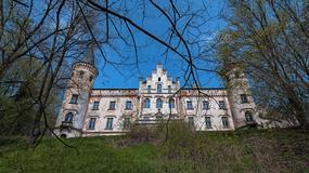 Opuszczony pałac w Szalejowie Dolnym