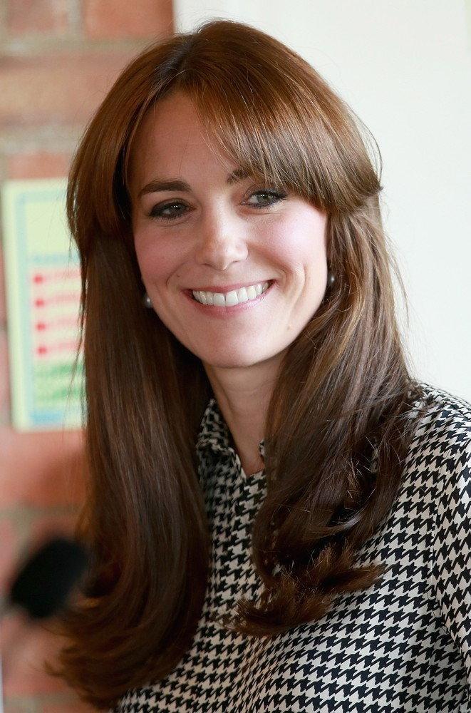 Księżna Kate ścięła Grzywkę Nowa Fryzura Kate Middleton