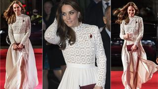 Best Look: Kate Middleton w sukni Self Portrait