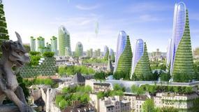 Zielony Paryż w roku 2050 - ekologiczna wizja przyszłości wg Vincenta Callebaut