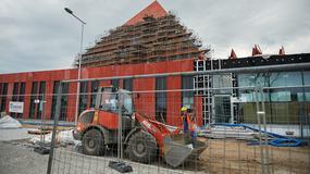 Prezentacja postępów prac przy budowie Muzeum II Wojny Światowej w Gdańsku