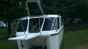 Unicamp: pływająca przyczepa campingowa