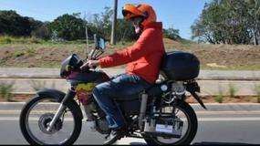 500 kilometrów motocyklem na litrze… wody