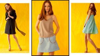 Diana Jankiewicz: sukienka pod letnim płaszczem