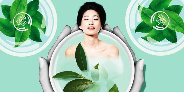 Herbaciany relaks The Body Shop Fuji Green Tee