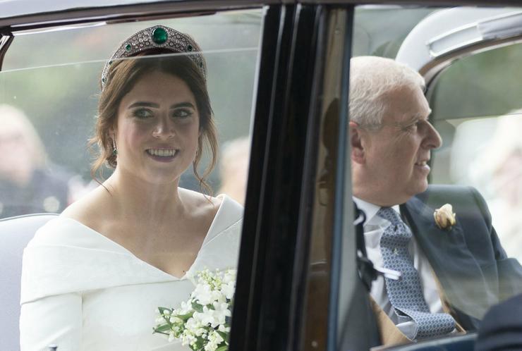Eugénia hercegnő és édesapja, András, York-i herceg /  Fotó : Profimedia-Reddot