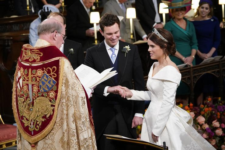Eugénia hercegnő és férje Jack Brooksbank / Fotó : GettyImages