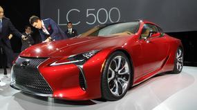 Lexus LC500 – symbol nowej kultury tworzenia samochodów (Detroit 2016)