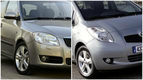 Skoda Fabia II vs. Toyota Yaris II - knedlik czy sushi?