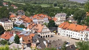 Kazimierz Dolny - zamek i wieża znów otwarte dla turystów; zespół zamkowy na wzgórzu po remoncie
