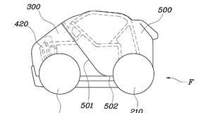 Auto miejskie ze składanym dachem? Oto pomysł Hyundaia