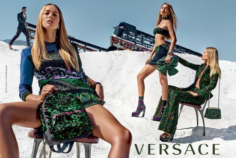 Kampania Versace ss 2016