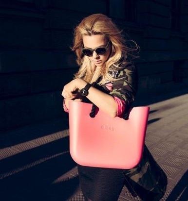 Kasia Bujakiewicz w kampanii O Bag