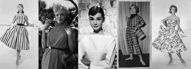 Ukłon w stronę kobiecości, czyli moda lat 50.