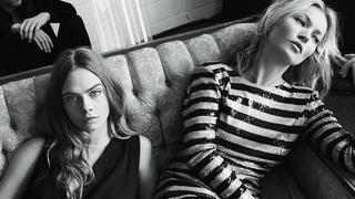 Kate Moss i Cara Delevingne w nowej odsłonie kampanii Mango