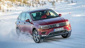 Nowy Volkswagen Tiguan - stabilny nawet na lodzie
