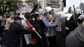 Demonstracje w Gdańsku, doszło do starć z policją