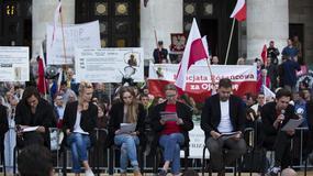 """Protesty przeciwko odczytom tekstu """"Golgota Picnic"""". Sprawę skomentowali Cezary Pazura i Adam """"Nergal"""" Darski"""