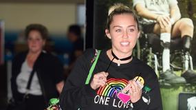 Miley Cyrus w dziwnej stylizacji