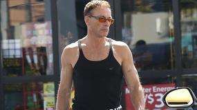 54-letni Jean-Claude Van Damme chwali się swoją muskulaturą