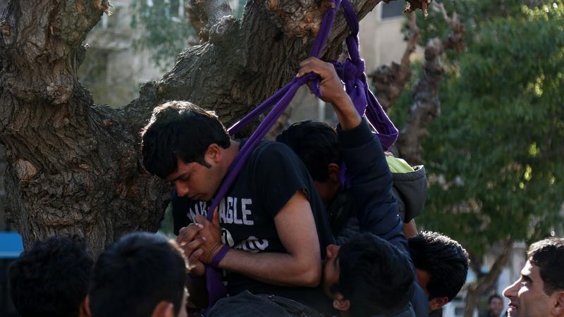 migránsok - Fotó: MTI