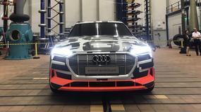 Audi e-tron - elektryczny SUV z bliska