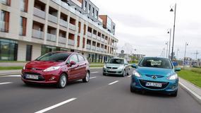 Ford Fiesta kontra Suzuki Swift i Mazda 2: automatyczni przyjaciele miasta