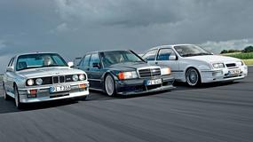 Sportowe limuzyny lat 80. - BMW M3 kontra Mercedes 190 E 2.5-16 Evo II i Ford Sierra Cosworth