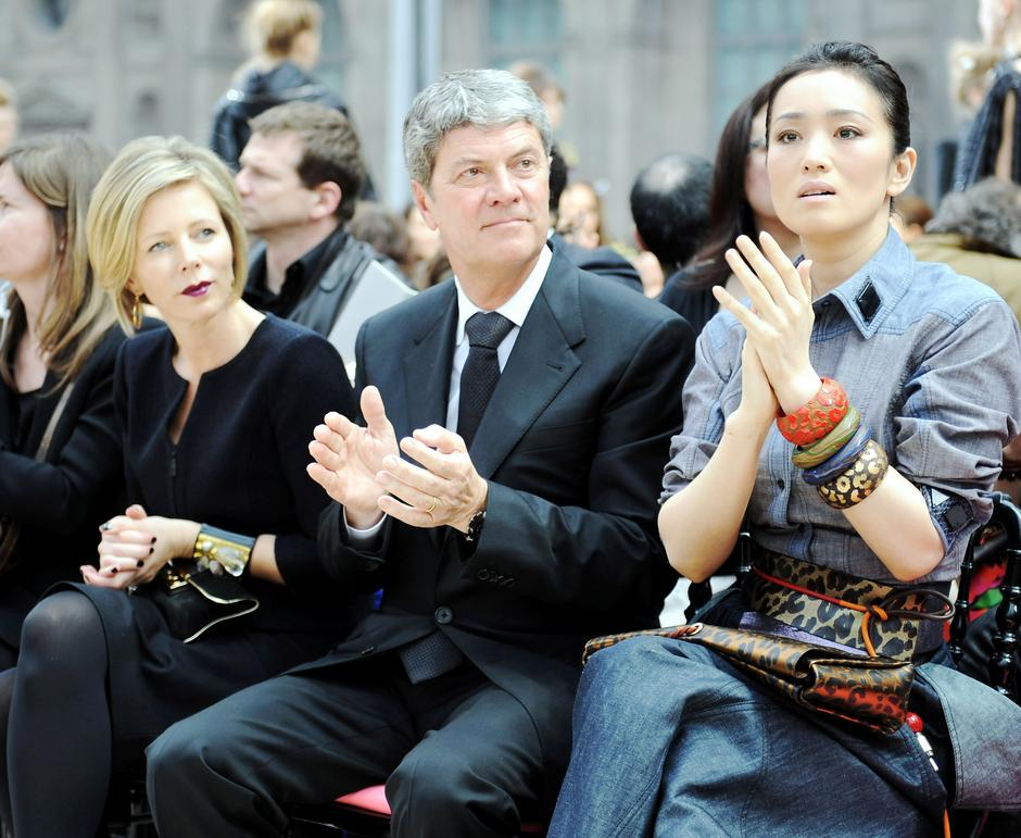 Getty Images - Rebecca Carcelle, Yves Carcelle oraz  Gong Li