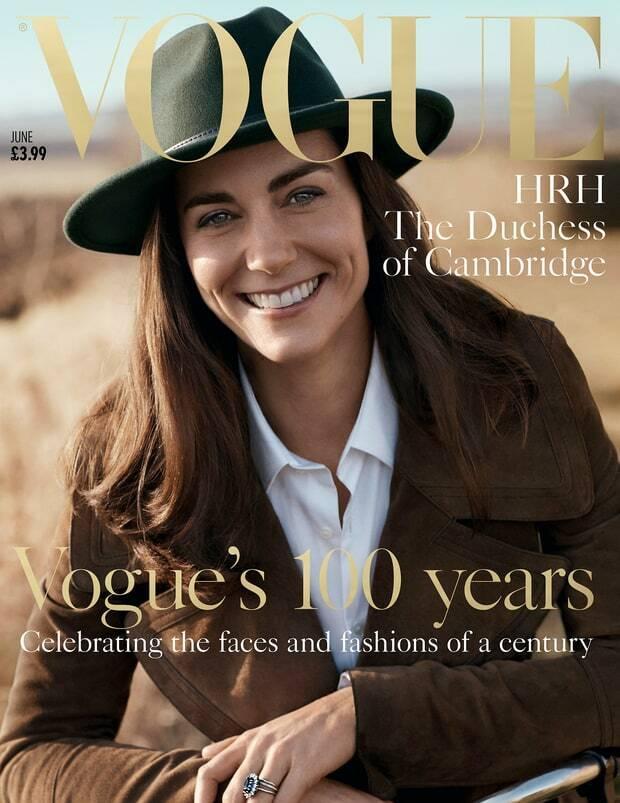 Kate Middleton na okładce Vogue
