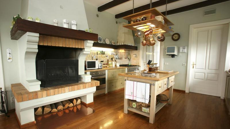 Kuchnie rustykalne  Dom -> Kuchnie W Rustykalnym Stylu